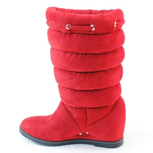 Nieuwe Brieten Dames Comfortabele Wijduitlopende Platte Slouch Snow Boots