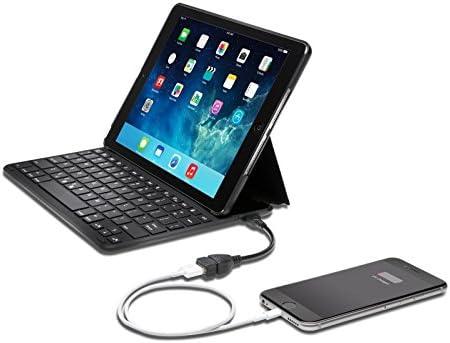 Kensington K97389ES - Funda con Teclado y batería incorporada para Apple iPad Air 2, Negro