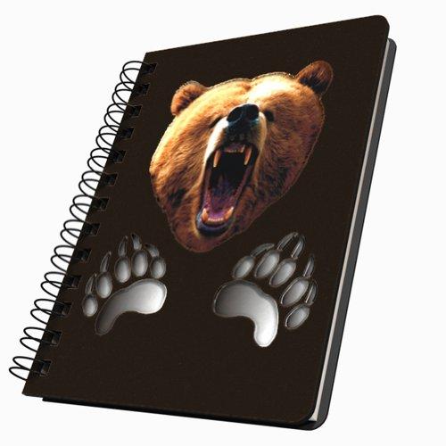 Got Yo Gifts Angry Bear Acrylic Journal, -