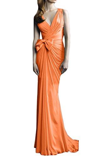 Ivydressing Greek Goddess Sheath V,Neck Formal Evening Dress