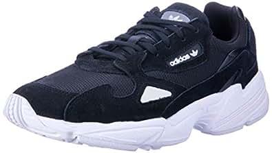 adidas Australia Women's Falcon Trainers, Core Black/Core Black/Footwear White, 5 US