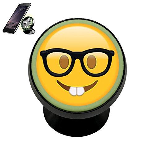 Sunglasses-Emoji DIY Magnetic Phone Car Mount - Sunglasses Diy Holder