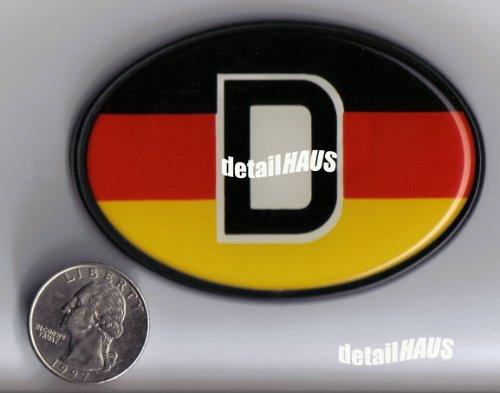 deutchland d car emblem - 2