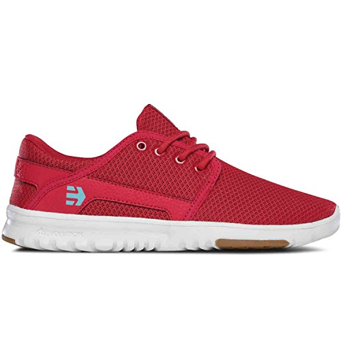 Etnies Scout W S - Baskets Femme Red/White/Gum