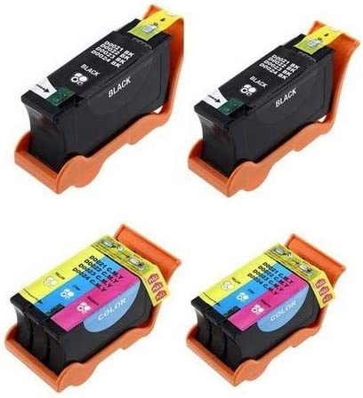 2-Black//2-Color SuppliesMAX Compatible Replacement for Dell P513//P713//V313//V515//V715W Inkjet Combo Pack 2B2CP713W Series 21