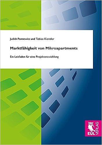 Marktfahigkeit Von Mikroapartments 9783844104516 Amazon Com Books