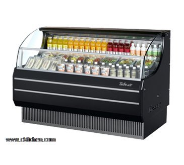 (Turbo Air TOM-75SB Horizontal Open Display Merchandiser)