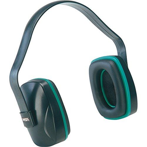 MSA Economuff Earmuffs, Fixed-Position, NRR 20 (9 Pack)