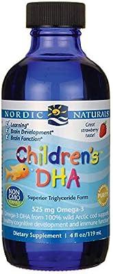 Nordic Naturals - Children's DHA, Healthy Cognitive Development and Immune Function, 4 Fl Oz