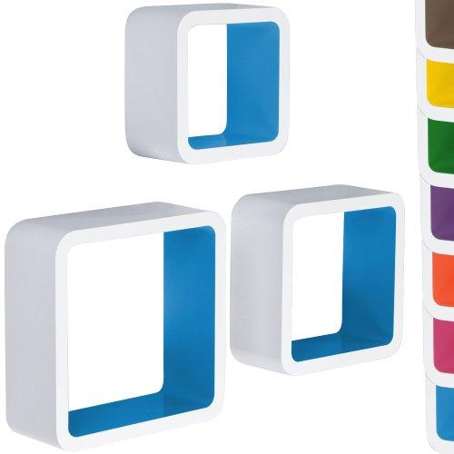 Miadomodo-3er-Set-Lounge-Cube-Regal-Bcherregal-Design-Retro-70er-Hngeregal-in-verschiedenen-Farben