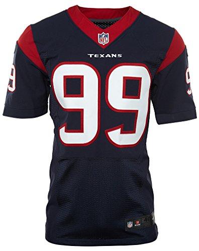 Nike Nfl Houston Texans Elite Jersey (jj Watt) Uomo Marino / Rosso Palestra