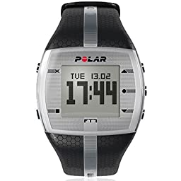 Polar FT7 Men\'s Heart Rate Monitor (Black / Silver)