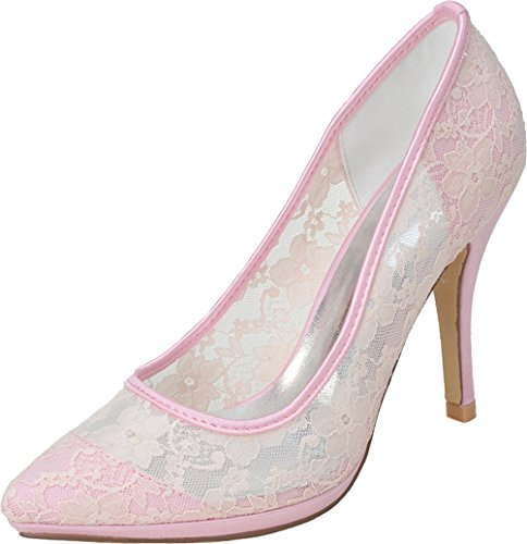 Sandales EU 5 36 Femme Rose CFP Compensées Rose zqqPZd