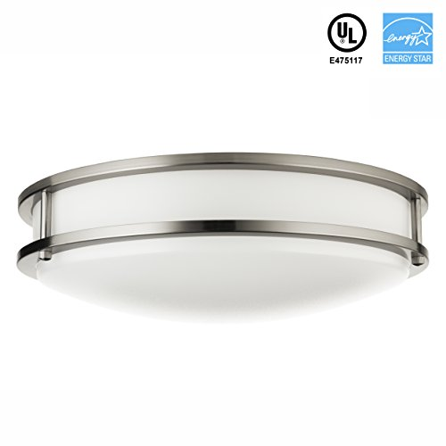Flush Mount Bronze Green (Hyperikon LED Flush Mount Ceiling Light, 14