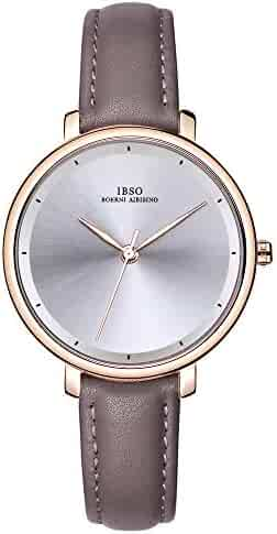 a898c48bbb7a3 IBSO Ladies Watches Leather Band Round Case Fashion Women Watches on Sale  relojes Mujer (6606
