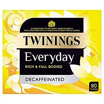 Twinings Everyday Tea Decaffeinated - 80 per pack