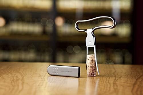 Le Creuset, PC300 Sacacorchos de láminas, Extracción del tapón del ...