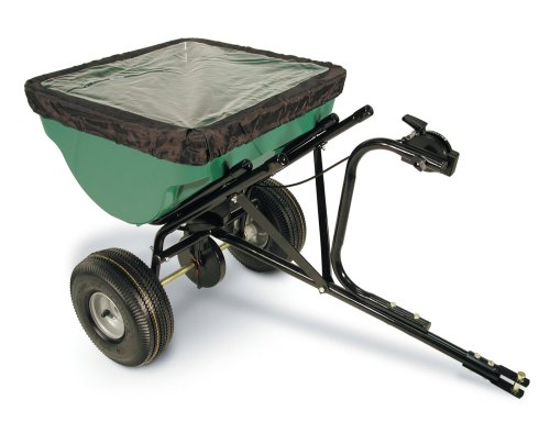 Heavy Spreader Duty Broadcast (Precision Products 100-Pound Capacity Tow-Behind Semi-Commercial Broadcast Spreader TBS4500PRCGY)
