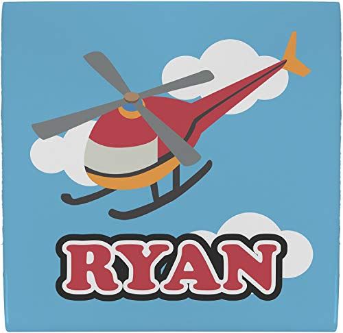 YouCustomizeIt Helicopter Ceramic Tile Hot Pad (Personalized)