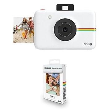 Amazon.com : Polaroid Snap Instant Digital Camera (White) with ...