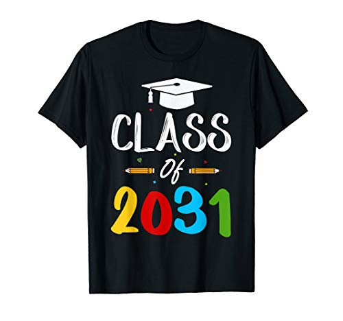 Class Of 2031 Grow With Me Shirt Gift Ideas For Kids]()
