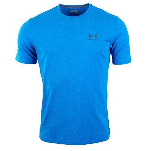 Under Armour Men's UA Charged Cotton? Sportstyle T-Shirt Large Blue