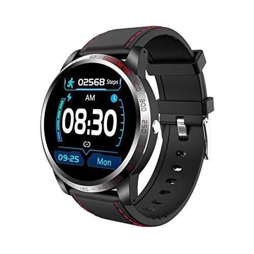 Smartwatch, Hartslag Op Groot Scherm, Bloeddruk Bloed Zuurstof Waterdichte Stappenteller Bluetooth Sporthorloge…