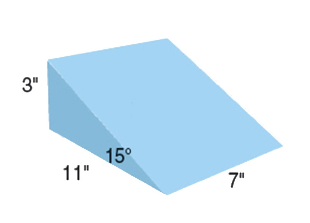 15 Degree Positioning Wedge, Uncovered