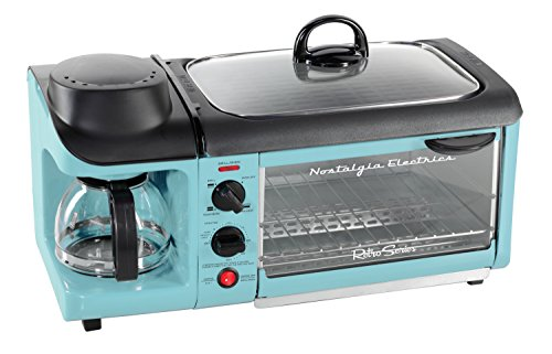 Nostalgia BSET300BLUE Family Breakfast Station product image