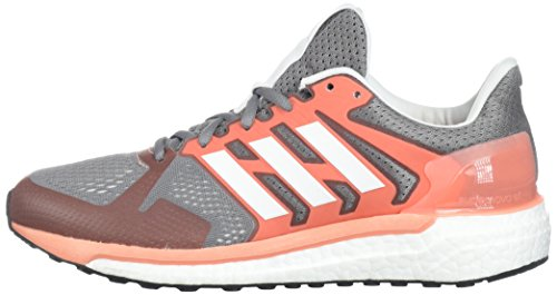 W Coral Three Da Adidas St Grey white Adidassupernova chalk Donna Supernova 70qEvq