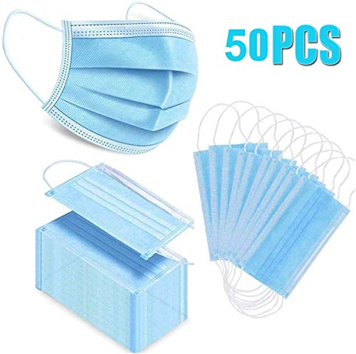 50pcs for Daily Use Mask Blue