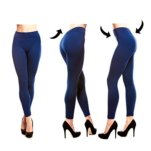 - 4141V4JRh6L - Stylish and Fit Body Fleece Lined Leggings Women, Seamless, Opaque, Thick Spandex Thermal Tights