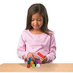 ETA hand2mind UniLink Interlocking Cubes, Set of 500