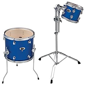 ddrum D2 PB AD1 D2 Ad on 8 and 14 Toms, Blue 1