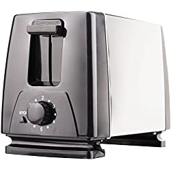 Brentwood TS-280S 2-Slice Extra Wide Slot Toaster, Stainless Steel