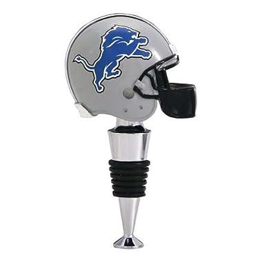 NFL Detroit Lions Helmet Wine Stopper