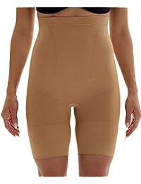 Franato Women Hi-Waist Shapewear Slim Tummy Control Mid Thigh Short Panties Body Shaper