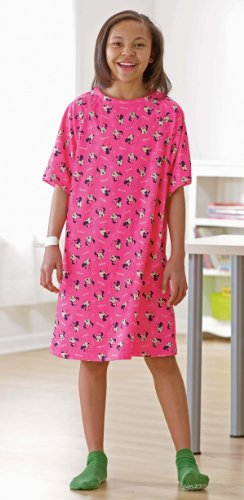 medline Disney Pediatric Iv Hospital Gowns (Kid, Pink)