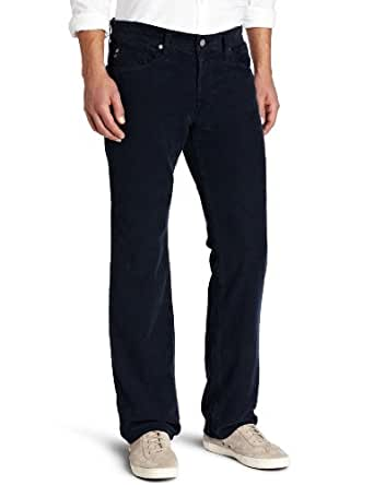 AG Adriano Goldschmied Men's Protege Staight Leg Vintage Corduroy Pant, Sulfur Navy, 36