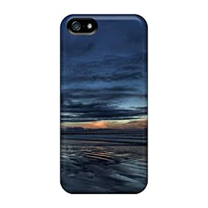 Awesome DrunkLove Defender Tpu Hard Case Cover For Iphone 5/5s- Dark Sea Sky