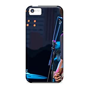 Iphone 5c LoQ17947ViCW Provide Private Custom Lifelike Foo Fighters Band Pictures Great Cell-phone Hard Cover -JonBradica