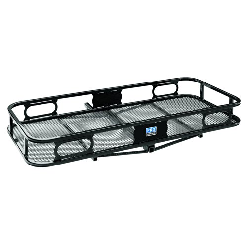 "Pro Series 63155 Rambler Hitch Cargo Carrier for 1-1/4"" Receivers (Cargo Box Tailgate)"