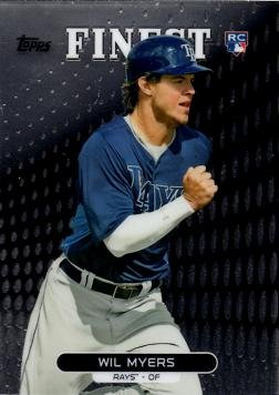e0122fed7f9 2013 Topps Finest Baseball  33 Wil Myers Rookie Card at Amazon s ...