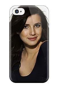 High Grade CaseyKBrown Flexible Tpu Case For Iphone 4/4s - Emma Roberts?wallpaper