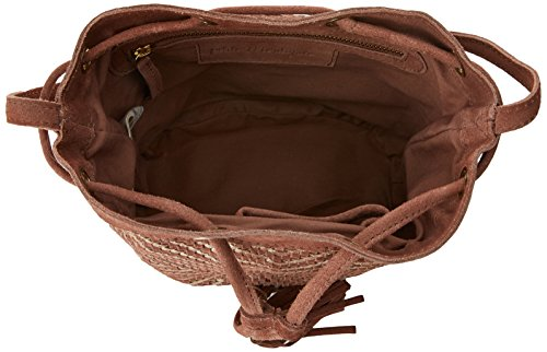 Petite Mendigote Damen Soho Umhängetasche, 10x21x12.5 cm Braun (Light Brown)