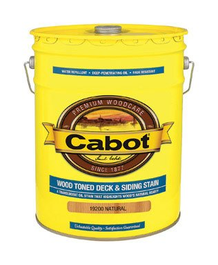 Cabot Stain - CABOT SAMUEL 19200-08 5GAL NTRL WD Deck Stain