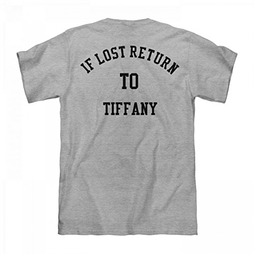FUNNYSHIRTS.ORG If Lost Return To Tiffany: Unisex Fruit of The Loom Midweight - Tiffany To Return