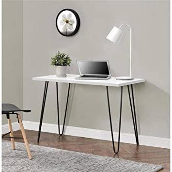 Ordinaire Mainstays Retro Desk, White