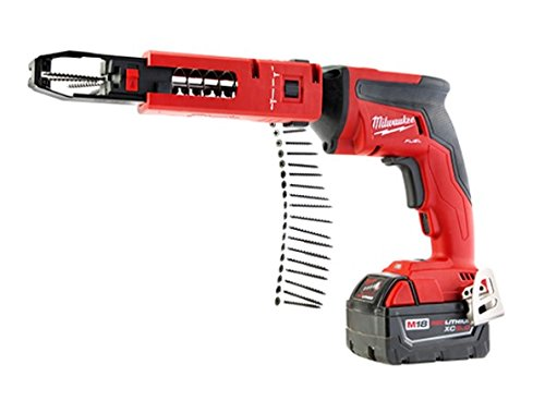 Milwaukee M18 FUEL Drywall Screw Gun XC 5.0 Kit with Collated Magazine Attachment