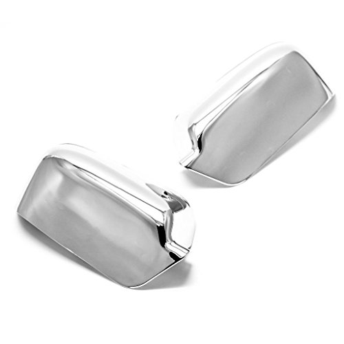 SIZVER Chrome Door Mirror Covers For 2006-2011 Ford Fusion